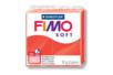 Fimo Soft 57gr - rouge indien - N° 24 - Fimo Soft 05804 - 10doigts.fr