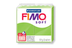 Fimo Soft 57 gr - Vert pomme - N° 50 - Fimo Soft 05808 - 10doigts.fr