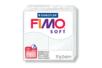 Fimo Soft 57gr - blanc - N° 0 - Fimo Soft 05820 - 10doigts.fr