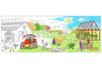 Fresque géante à colorier : La Ferme - Support pré-dessiné 38004 - 10doigts.fr