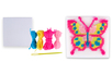 Kit canevas Papillon - Canevas 28141 - 10doigts.fr