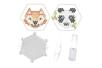 Kit Perles d'eau fusibles  renard & panda - Kits créatifs prêt à l'emploi 36205 - 10doigts.fr
