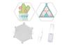 Kit Perles d'eau fusibles  tipi & cactus - Kits créatifs prêt à l'emploi 36204 - 10doigts.fr