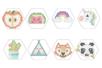 Kits Perles d'eau aqua - Super pack 4 kits ( panda + fruits + licorne + cactus ) - Kits créatifs prêt à l'emploi 36246 - 10doigts.fr