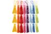 Long pompons colorés (9 x 8 couleurs) - 72 pompons - Nouveautés - 10doigts.fr