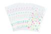 Sachets cristal à pois 11,5 x 19 cm - Lot de 100 - Transparent 35069 - 10doigts.fr