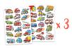 Lot de 3 sets de 34 gommettes voitures et camions - Gommettes fantaisie 18525 - 10doigts.fr