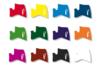Marqueurs à laque - Set de 12 couleurs assorties - Feutres Marqueurs dessin 02988 - 10doigts.fr