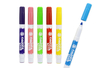 Marqueurs Textiles, couleurs claires - Boite de 6 - Feutres Marqueurs Textile 11427 - 10doigts.fr