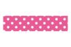 Masking tape 15 mm x 10 m - Rose à pois blancs - Masking tape (Washi tape) - 10doigts.fr