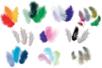 Méga Pack de plumes - 10 sachets de 50 plumes (soit 500 plumes) - Plumes 36242 - 10doigts.fr