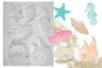 Moule 6 poissons et coquillages - Moules 16372 - 10doigts.fr