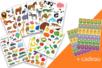 Pack gommettes apprentissage - Gommettes Animaux 40040 - 10doigts.fr