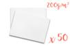 Ramette de papier blanc A3 200 gr - 50 feuilles - Support blanc 11253 - 10doigts.fr