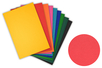 Papier coloré 220 gr ,10 couleurs assorties - 50 x 70  cm - 30 feuilles - Ramettes de papiers 03163 - 10doigts.fr