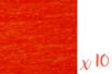 Papier crépon rouge 2 m x 50 cm - Lot de 10 feuilles - Papiers de crépon 06036 - 10doigts.fr