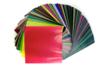 Papier vitrail 15 x 15 cm - Set de 500 feuilles - Papier Vitrail 02555 - 10doigts.fr