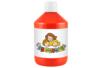 Peinture acrylique 500 ml - Rouge écarlate (vrai rouge) - Acryliques scolaire 11767 - 10doigts.fr