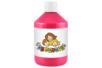 Peinture acrylique 500 ml - Rouge primaire (magenta) - Acryliques scolaire 11768 - 10doigts.fr