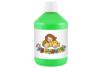 Peinture acrylique 500 ml - Vert clair - Acryliques scolaire 11772 - 10doigts.fr
