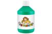 Peinture acrylique 500 ml - Vert foncé - Acryliques scolaire 11773 - 10doigts.fr