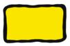 Peinture repositionnable Jaune - Flacon 80 ml - Peinture Verre et Faïence 10982 - 10doigts.fr