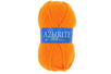 Pelote de laine Azurite orange - Laine - 10doigts.fr