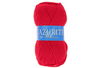 Pelote de laine Azurite rouge - Laine 01208 - 10doigts.fr