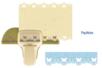 Perforatrice frise en dentelle Papillons - Perforatrices fantaisies 14819 - 10doigts.fr