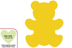 Perforatrice médium ourson (29) - Perforatrices fantaisies 07258 - 10doigts.fr