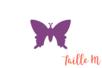 Perforatrice médium papillon - Taille découpe :2.5 x 1.8 cm - Perforatrices fantaisies 07262 - 10doigts.fr
