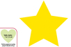 Perforatrice Méga Jumbo à levier : étoile - Perforatrices fantaisies 07281 - 10doigts.fr
