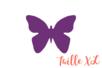 Perforatrice Super Jumbo à levier : papillon - Taille découpe : 4 x 3 cm - Perforatrices fantaisies 07279 - 10doigts.fr