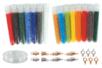Perles de rocailles opaques - Set de 15 tubes + CADEAUX - Perles de rocaille 12752 - 10doigts.fr