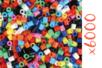 Perles fusibles opaques - 6 sets ( soit 6000 perles ) - Perles fusibles 5 mm 15262 - 10doigts.fr