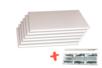 Plaques de carton-plume  21 x 29.7 cm - Lot de 6 - Carton mousse 18396 - 10doigts.fr