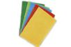 Plaques de feutre épais - 5 couleurs assorties : jaune, rouge, bleu clair, vert clair, vert foncé - Feutrine 11044 - 10doigts.fr