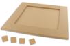 Dessous de plat carré pour Mosaïques - Plateaux en bois - 10doigts.fr