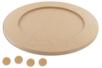 Dessous de plat rond pour Mosaïques - Plateaux en bois 08006 - 10doigts.fr