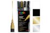 Marqueurs POSCA pointes fines (0,9 à 1,3 mm) PC3M - Set de 4 - Marqueurs Posca - 10doigts.fr