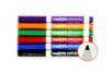 Pochette de 6 marqueurs effaçables pour tableau blanc - pointes larges - Feutres fins 31148 - 10doigts.fr