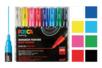 8 marqueurs POSCA pointes extra-fines (0,7 à 1 mm) - Marqueurs Posca - 10doigts.fr