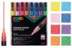Marqueurs Posca pointes fines - 8 feutres couleurs Pailletées - Marqueurs Posca 08238 - 10doigts.fr
