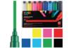 Marqueurs Posca pointes larges - 8 feutres Posca couleurs vives - Marqueurs Posca 05768 - 10doigts.fr