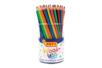 Crayons de couleur sans bois - Pot de 84 crayons - Crayons de couleurs 35053 - 10doigts.fr