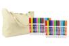PROMO : 24 marqueurs textile + CADEAU d'un sac de plage - Feutres Marqueurs Textile 10217 - 10doigts.fr