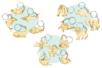PROMO : Set de 15 porte-clés assortis en bois - Porte-clefs 34136 - 10doigts.fr