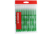 Recharge schoolpack STABILO power Vert - x 12 feutres  - Feutres Larges 37056 - 10doigts.fr