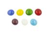 Set de 200 galets en verre (1 kg) - couleurs brillantes - Mosaïques verre 31153 - 10doigts.fr