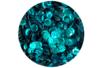 Sequins turquoise - Lot de 12000 sequins - Sequins 04718 - 10doigts.fr